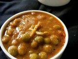 Peas Masala without Onion & Garlic