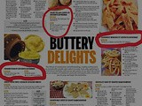 Recipes got Featured in Indian Express
