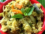 Vegetable Biryani ( Method 2)