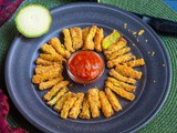 Air Fryer Zucchini Fries | Crispy & Healthy Vegan Zucchini Fries