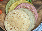 Colorful Rotis with Rotimatic