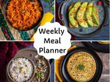 Indian Meal Plan | Weekly Meal Planner