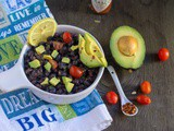 Instant Pot Black Bean Taco Salad