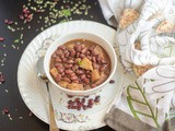 Instant Pot Rajma Gogji | Kashmiri Kidney Beans Turnip Curry
