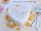 Italian Vanilla Flavored Panna Cotta With Agar Agar