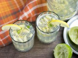 Kulukki Sarbath | Sweet and Spicy Shaken Limeade