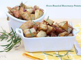 Oven Roasted Rosemary Potatoes | Thanksgiving Sides