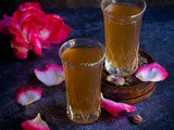 Paneer Soda | Homemade Rose-Flavored Soda