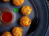 Rice Cheese and Veggie Balls