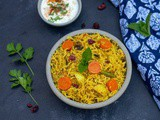 Sindhi Veg Biryani | Instant Pot Version