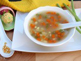 Slow Cooker Sweet Corn Vegetable Soup