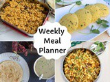 South Indian Vegetarian Weekly Meal Planner