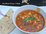 Soy Beans Chole | Soy Beans Gravy