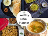 Sunday Meal Planning | Weekly Meal Planner