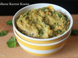 Vallarai Keerai Kootu | Indian Pennywort Curry
