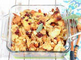 Vegetarian Bread Stuffing | Thanksgiving Sides