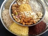 Millet powder i sathu maavu i multi purpose millet flour i basics of kitchen i healthy drink powder