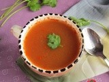Tomato soup i no oil tomato soup i healthy soup recipes i weight loss soup recipes