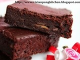 Almost Fat Free Fudge Brownies