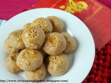 Chinese Peanut Cookies(Gluten Free)-cny Cookies#4