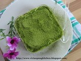 Eggless Matcha Red Bean Tiramisu