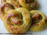 Green Pretzel/ Straight Dough Method