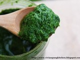 How To Prepare Spinach Purée