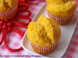 Pumpkin Steamed Cake(Fa Gao) 金瓜发糕