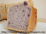 Purple Sweet Potatoes Chiffon Cake
