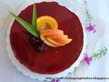 Roselle No-Bake Cheesecake