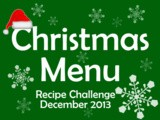 Christmas Menu Recipe Challenge