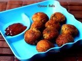 Easy Cheese Balls Recipe (Using Appe/Paniyaram Pan)