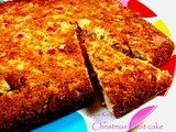 Easy Christmas Cake - Christmas Fruit cake - Christmas Cake