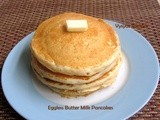 Eggless buttermilk pancakes -( light spongy fluffy) - easy pancakes