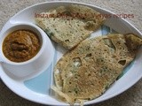 Instant Oats Dosa - Oats Dosa - using wheat flour - How to make Instant Oatmeal  Dosa