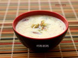 Paneer Kheer Recipe - Channar Payesh Recipe - Paneer Payasam