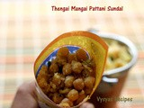 Thengai Mangai Pattani Sundal - Beach Sundal - Sundal Recipes