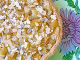 Almond and apple tart