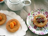 Breakfast with pistachio tartlets - Πρωινό με τάρτες από φιστίκι
