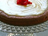 Buckwheat and almond chocolate cake with vanilla buttercream - Κέικ σοκολάτας με φαγόπυρο και αμύγδαλο