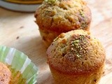 Spiced pear and brown butter muffins - Κεκάκια με αχλάδι και καστανό βούτυρο