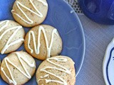 White chocolate and pistaccio biscuits - Μπισκότα με φιστικια Αιγίνης και λευκή σοκολάτα