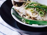 Chinese Steamed Fish & Milky White Fish Head Soup