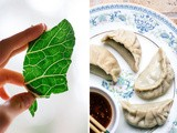 Collard Greens Jiaozi (Chinese Dumplings)