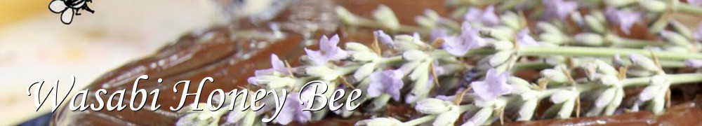 Very Good Recipes - Wasabi Honey Bee