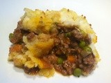 An authentic St. Patrick's day meal – Shepherd's Pie