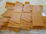 Healthy Fruit Leather Made In The Kitchen