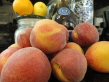 Homemade Peach Liqueur, Capturing the Essence of Summer