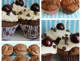 Black Forest Muffins (with a vegan option)
