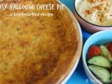 Easy Halloumi Cheese Pie